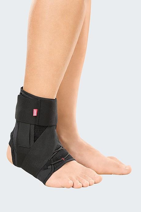 medi ankle brace black