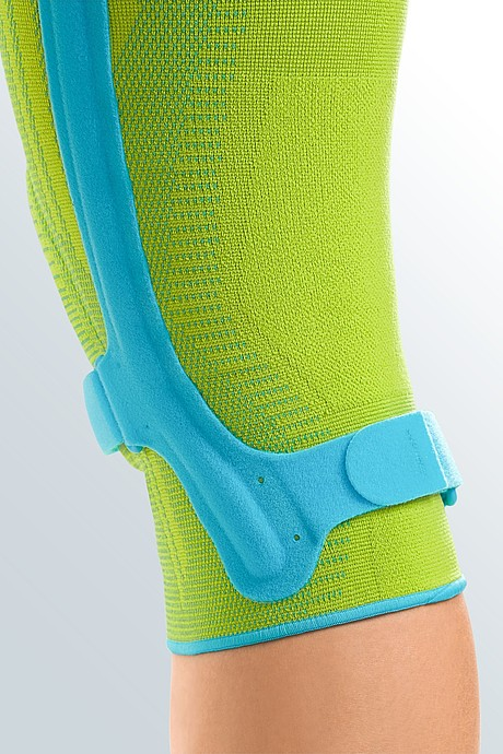 Genumedi PSS knee support flank lime azur