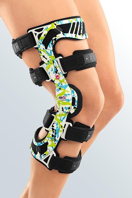 M.4s comfort knee brace hawaii blue