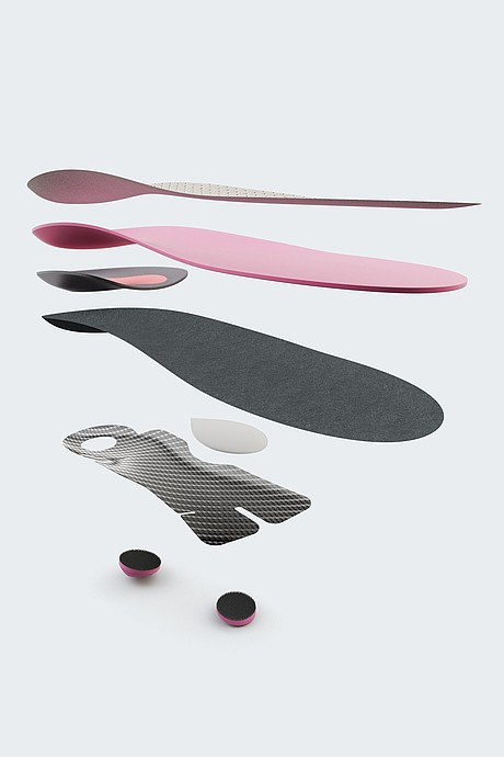 igli Business heel insoles from medi for heel spurs