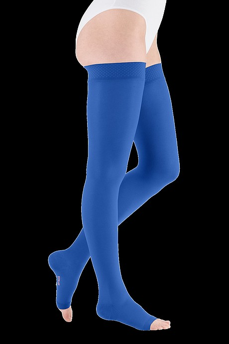 mediven plus compression stockings veanous treatment royal blue