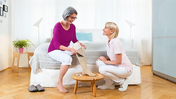 Oczyszczanie ran z firmą medi w przypadku owrzodzenia żylnego podudzi - Oczyszczanie ran z firmą medi w przypadku owrzodzenia żylnego podudzi