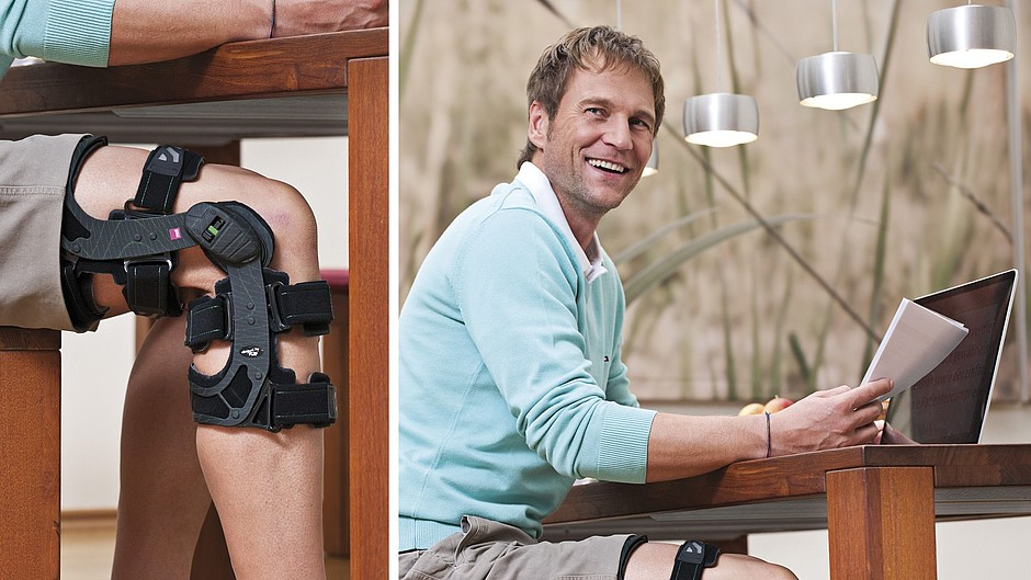 M.4 X-lock knee braces medi man desk