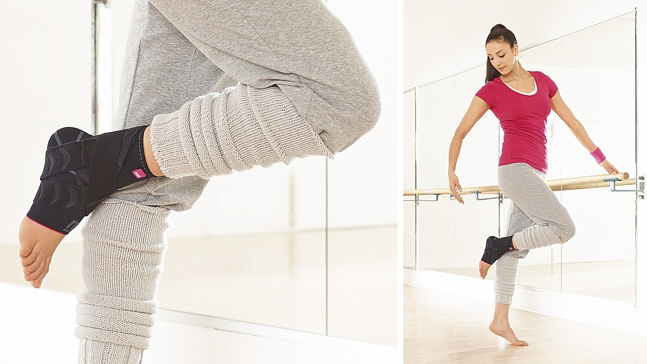 Ankle supports Levamed active medi dancer