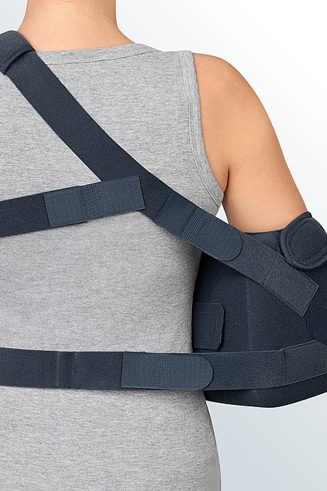 SAS comfort shoulder abduction brace from behind medi