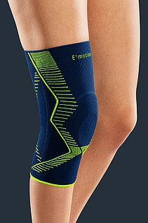 Genumedi E+motion knee supports from medi