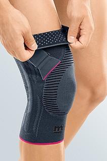 Genumedi PT knee support silver silicone burls