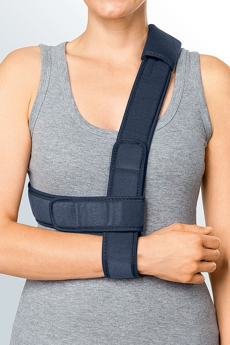 medi easy sling shoulder orthosis for immobilisation neck relief