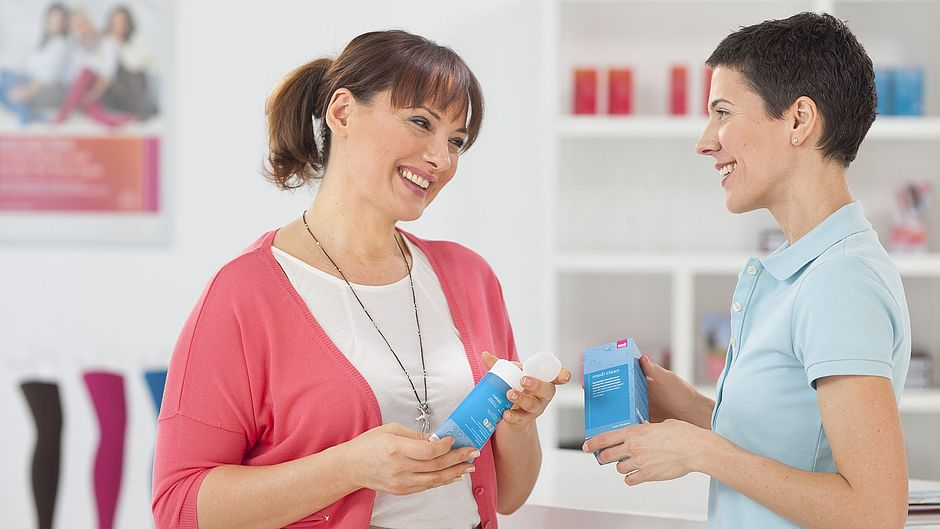 Medi clean: detergent for compression stockings