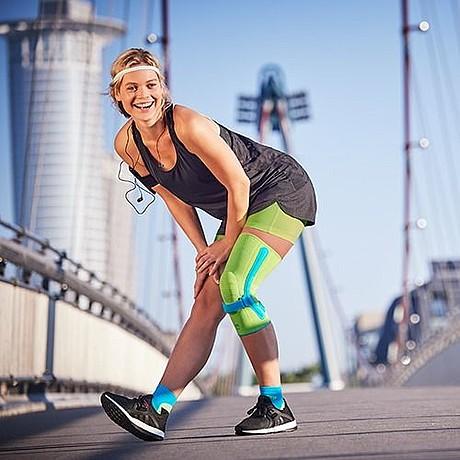 Genumedi PSS knee support with Patella Strap
