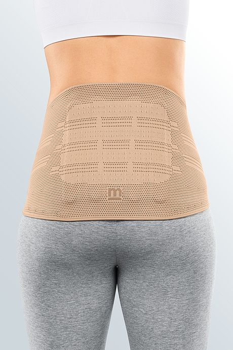 Lumbamed basic lumbar support sand back view