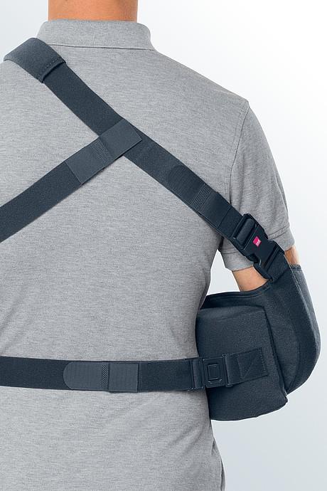 medi SAS 15 shoulder abduction brace from behind
